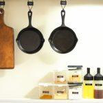 調味料と調理器具
