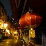 中国風の街並み