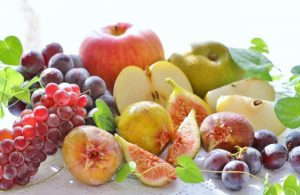 盛りだくさんのフルーツ