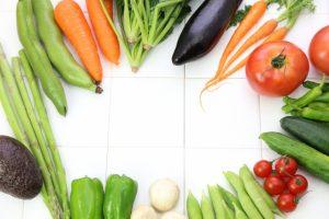 色鮮やかな野菜